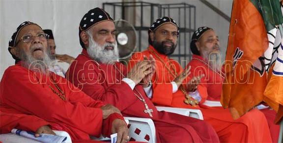 യാക്കോബായ സഭ ബി.ജെ.പി.യോട് അടുക്കുന്നു; മെത്രാപ്പോലീത്ത അമിത്ഷായെ കാണാന് ഡല്ഹിയിലേക്ക്